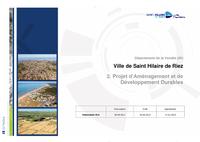 Projet daménagement et de développement durables