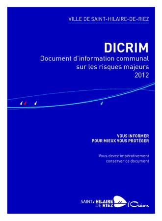 DICRIM brochureimprimee aout2012