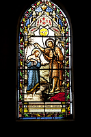 vitrail eglise saint hilaire