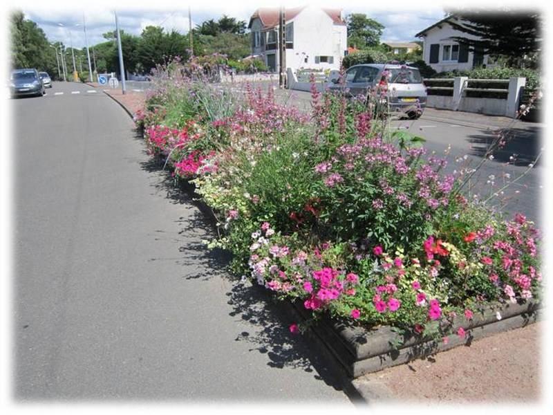Fleurissement et espaces verts for Espace vert urbain