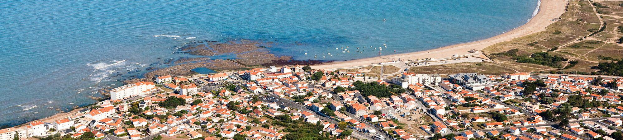 Bandeau de la page 'Office de tourisme du Pays de Saint-Gilles-Croix-de-Vie