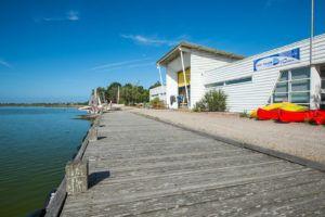 Photo de la base nautique des Vallees a Saint Hilaire de Riez