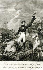 """Document extrait de l'ouvrage de Jérôme Delandine de Saint-Esprit, """"Le panache d'Henri IV, Ou les Phalanges royales en 1815""""."""