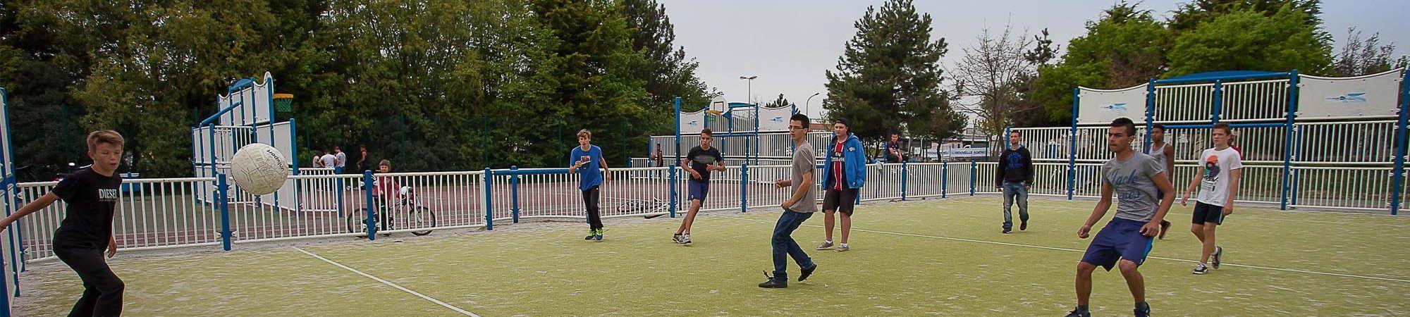 Bandeau de la page 'Nouveauté 2017 : l'École municipale des sports