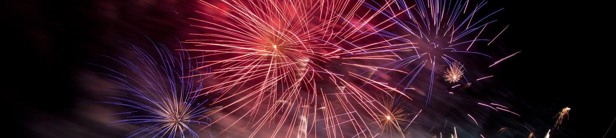 Bandeau de la page 'Spectacle pyromusical # Fin août 2018